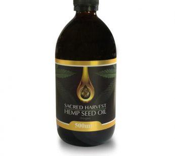 Hemp Seed Oil – Raw/Virgin